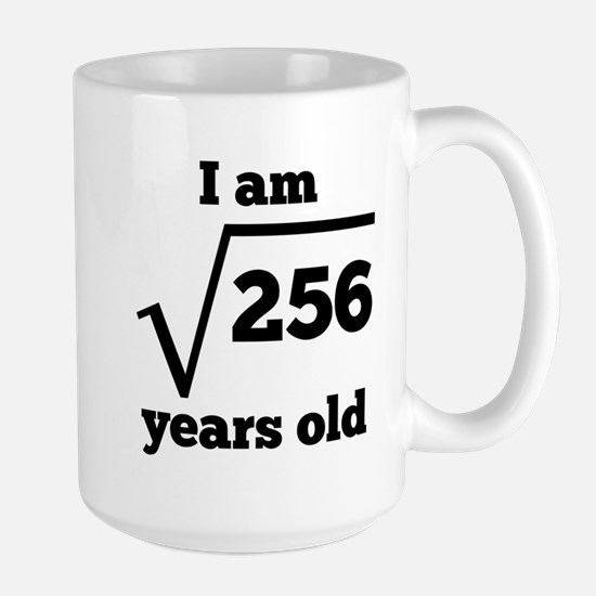 16th Birthday Square Root Mugs