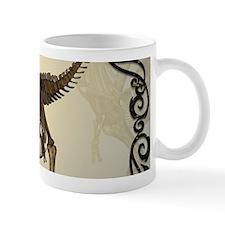 T-rex skeleton Mugs