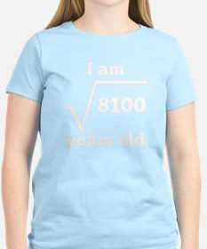 90th Birthday Square Root T-Shirt