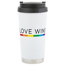 Love Wins Travel Mug