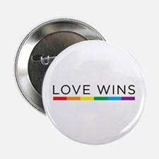 """Love Wins 2.25"""" Button (10 pack)"""