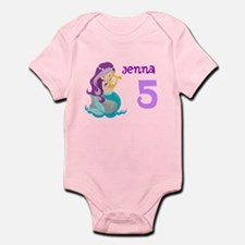 Purple Mermaid Infant Bodysuit