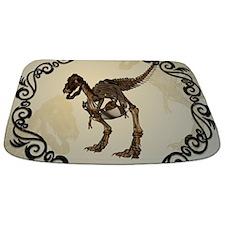 T-rex skeleton Bathmat