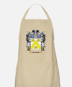 Hannah Coat of Arms - Family Crest Apron
