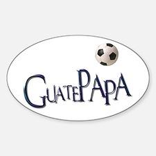 GuatePapa Oval Decal