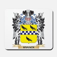 Hansen Coat of Arms - Family Crest Mousepad