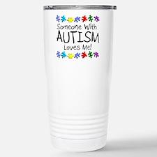 Funny Autism Travel Mug