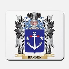 Hansen- Coat of Arms - Family Crest Mousepad
