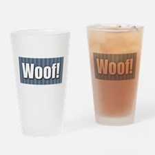 Cool Cat golf Drinking Glass