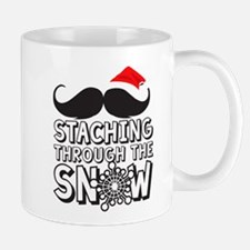 Staching Through The Snow Holiday Mugs