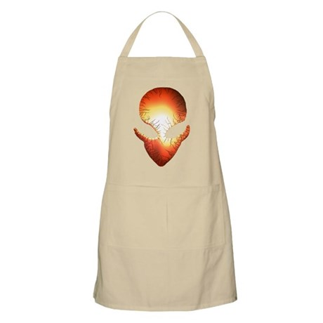 """Cracked"" 7 BBQ Apron"