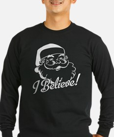 I Believe Santa Claus.png Long Sleeve T-Shirt
