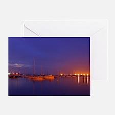Unique San diego bay Greeting Card