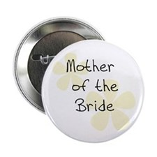Mother of Bride Yellow Button