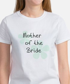 Mother of Bride Green Women's T-Shirt