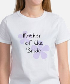 Mother of Bride Lilac Women's T-Shirt