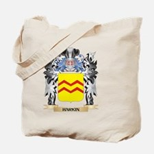 Harkin Coat of Arms - Family Crest Tote Bag