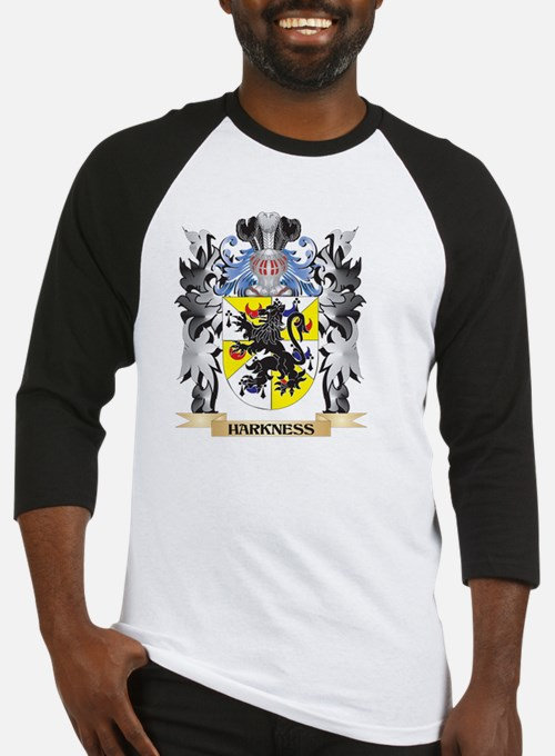 Harkness Coat of Arms - Family Cre Baseball Jersey