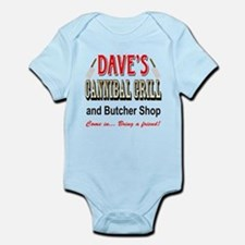 DAVE'S CANNIBAL GRILL Body Suit