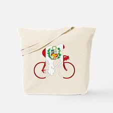 Peru Cycling Tote Bag