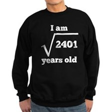 49th Birthday Square Root Sweatshirt