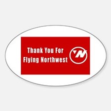 Northwest airlines Decal