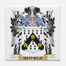 Hatfield Coat of Arms - Family Crest Tile Coaster