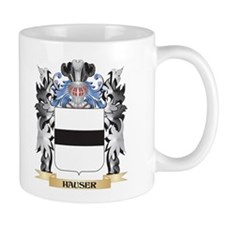 Hauser Coat of Arms - Family Crest Mugs