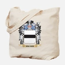 Hauser Coat of Arms - Family Crest Tote Bag