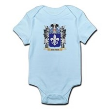 Hauser Coat of Arms - Family Crest Body Suit
