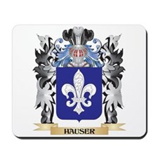Hauser Coat of Arms - Family Crest Mousepad