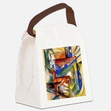 Marc - Composition of Animals II Canvas Lunch Bag