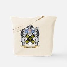 Hawkings Coat of Arms - Family Crest Tote Bag