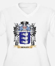 Healey Coat of Arms - Family Cre Plus Size T-Shirt