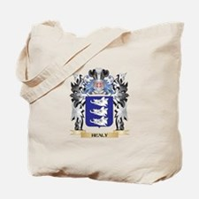 Healy Coat of Arms - Family Crest Tote Bag