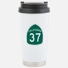 Route 37, California Stainless Steel Travel Mug