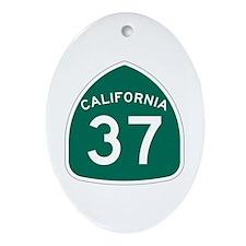 Route 37, California Ornament (Oval)