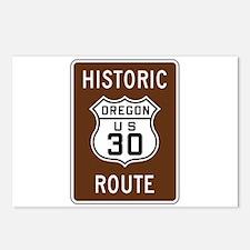 Historic U.S. 30, Oregon Postcards (Package of 8)