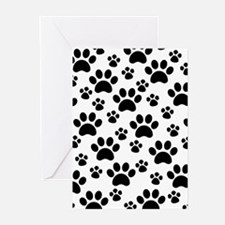 Dog Paws Greeting Cards