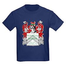 Kids Navy Coat Of Arms T-Shirt