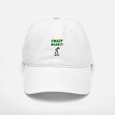 CWAZY WABBIT! Baseball Baseball Cap