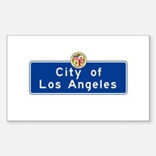 City of Los Angeles, Californi Decal