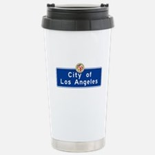 City of Los Angeles, Ca Travel Mug