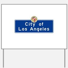 City of Los Angeles, California Yard Sign