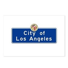 City of Los Angeles, Cali Postcards (Package of 8)