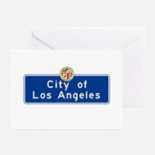 City of Los Angeles, Cal Greeting Cards (Pk of 10)