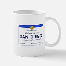 Welcome to San Diego, California Mug