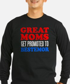 Great Moms Promoted Bestemor Long Sleeve T-Shirt