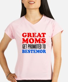 Great Moms Promoted Bestemor Performance Dry T-Shi