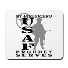 GF Proudly Serves - USAF Mousepad